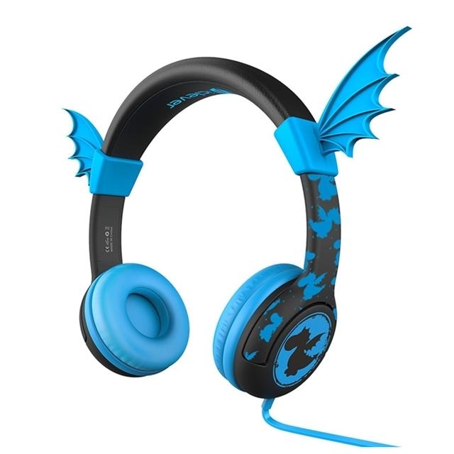 아이클레버 어린이 헤드폰 + 파우치, 드래곤블루, iclever kids Headphones series