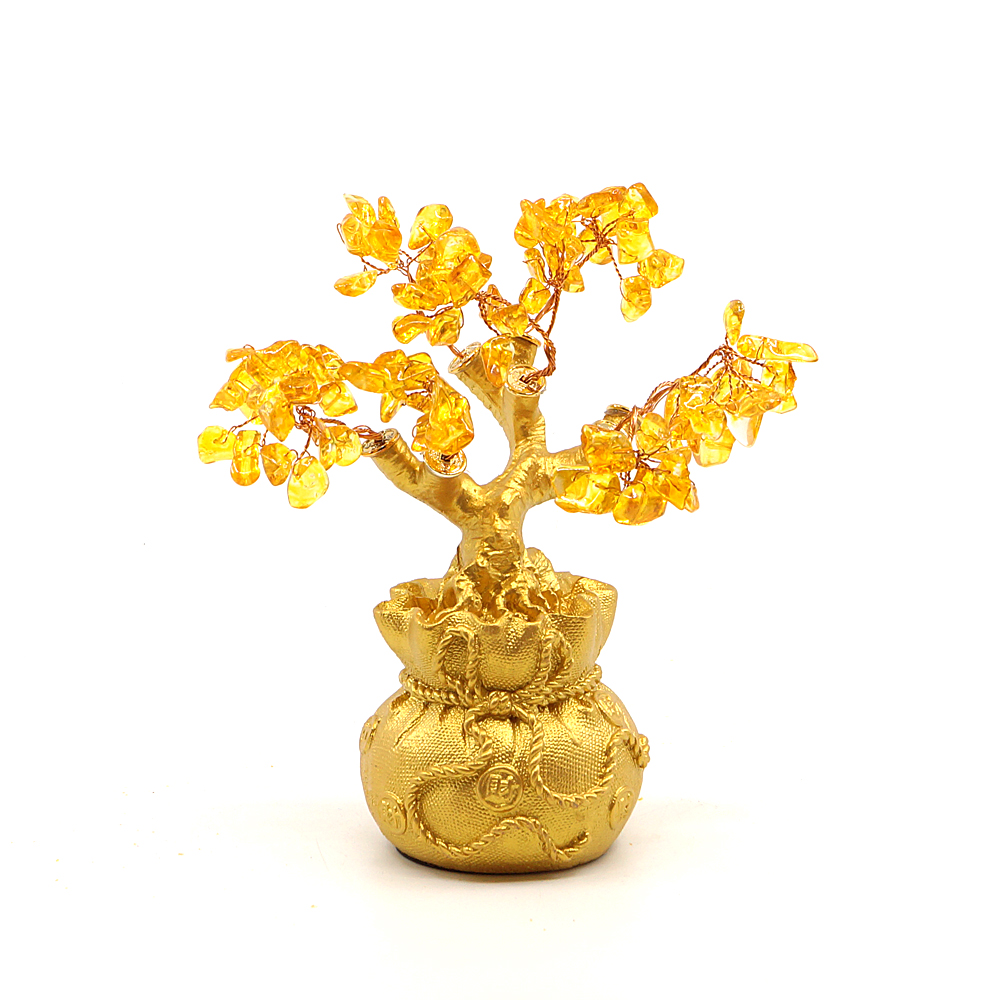 비오스 황수정 나무 소, 골드, 1개