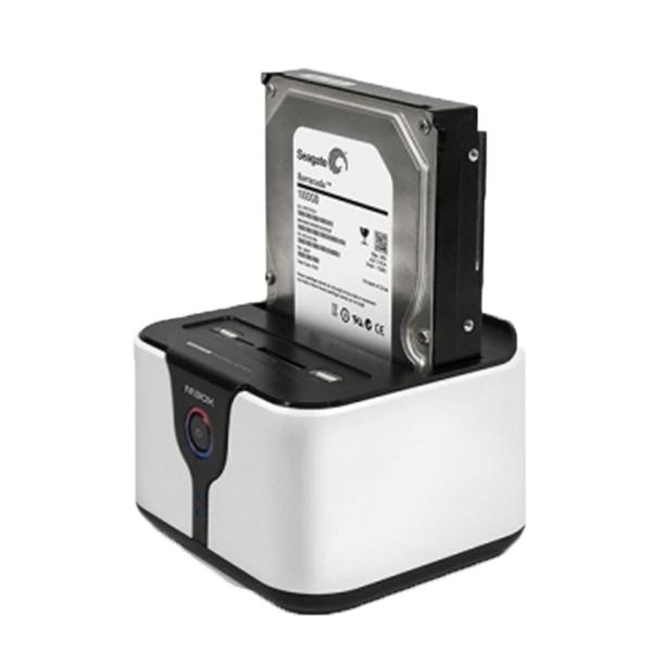 유니콘 2베이 무선 도킹 멀티 외장케이스 WN-5000M