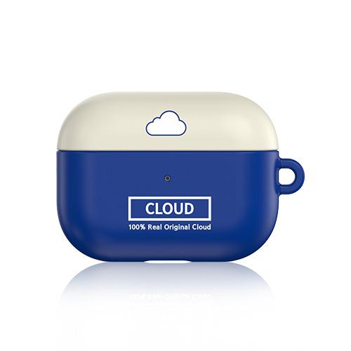 별다섯 이지쏙 날씨 디자인 에어팟프로 하드 케이스, 단일상품, 날씨 클라우드 블루