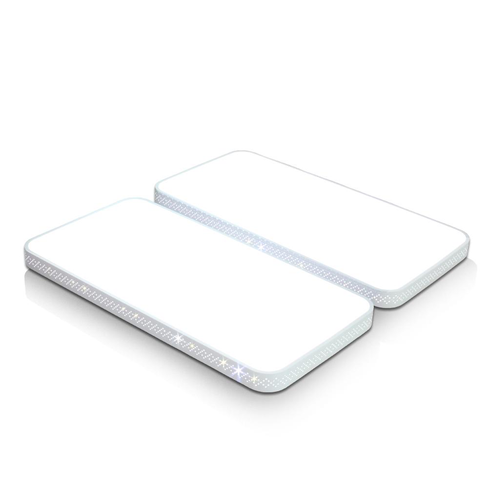 나이스엘이디 국산 정품칩사용 LED거실등 플리커프리, 시스템 마름모 거실4등