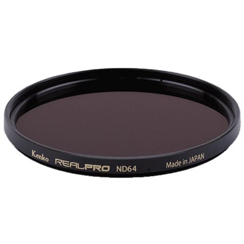겐코 반사방지 멀티코팅 카메라 필터 77mm, REALPRO ND64