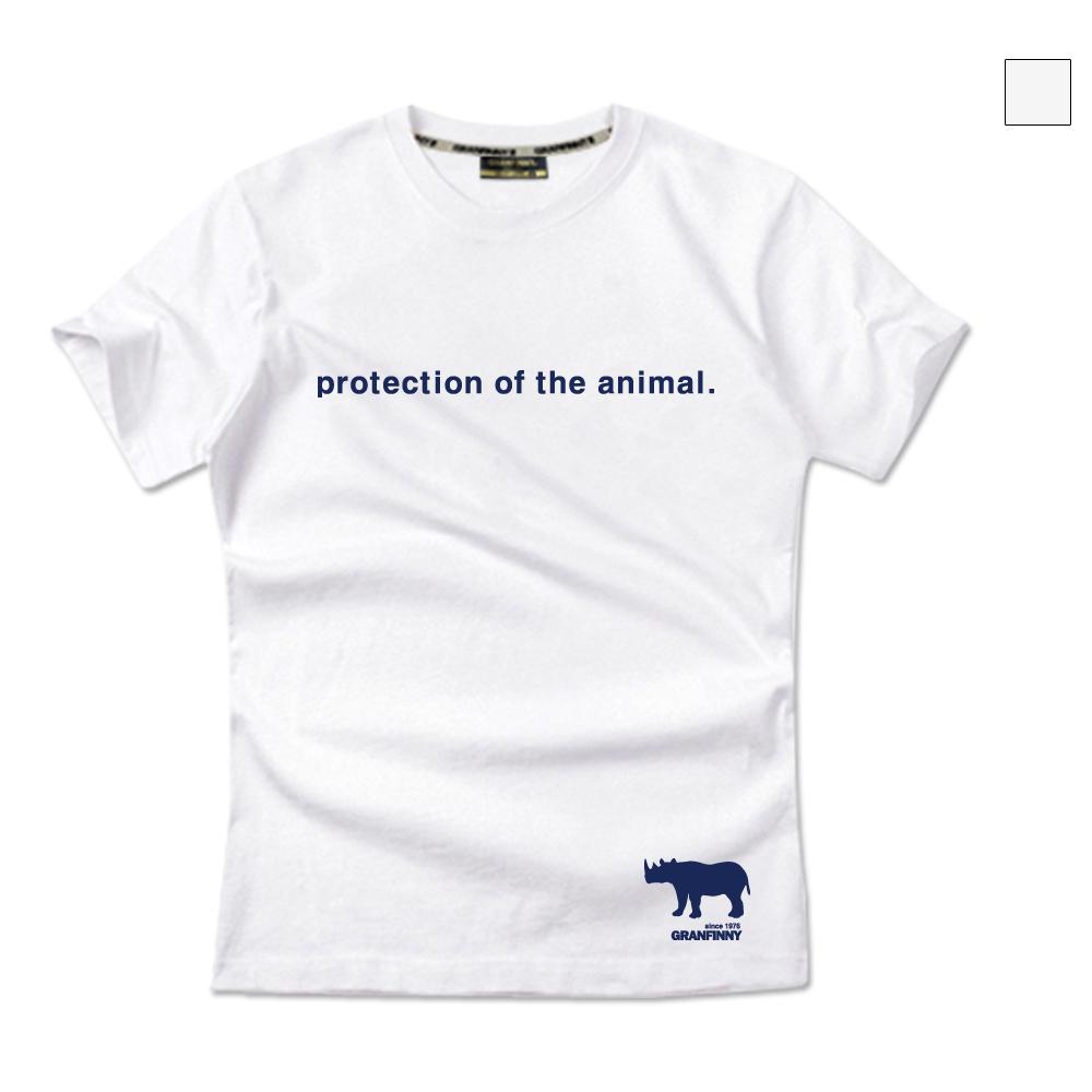 그랜피니 스몰 코뿔소 반팔 티셔츠 GSR