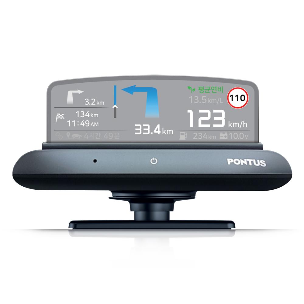 현대폰터스 HUD 헤드업 디스플레이 내비게이션 H1000