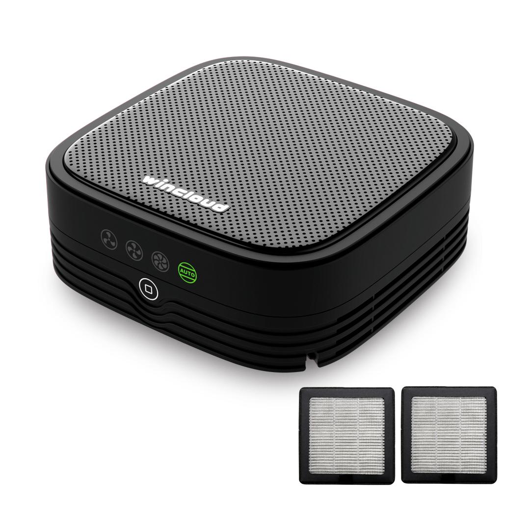 윈크라우드 WIN20 플러스 차량용 공기청정기 + 4중필터 2p, WIN20 PLUS