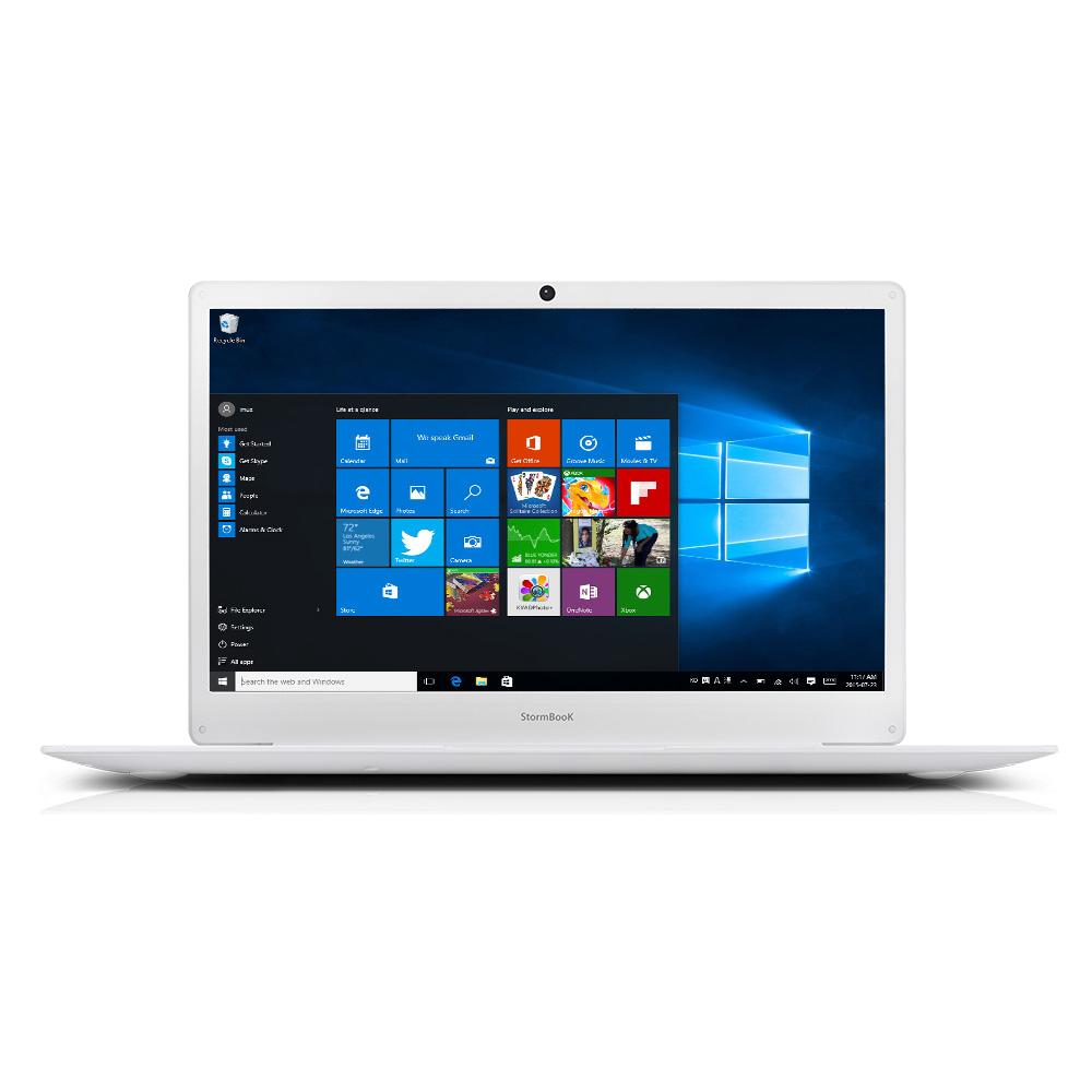 아이뮤즈 노트북 StormBook (셀러론 N3350 35.5cm WIN10 MS오피스 포함), 포함, eMMC 64GB + SSD 128GB, 4GB