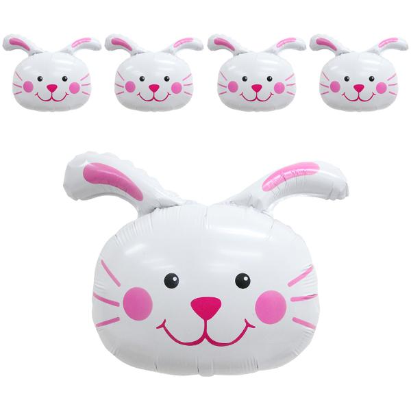 파티공구 동물 풍선, 토끼, 5개