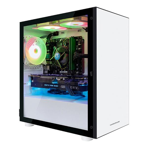한성컴퓨터 게이밍 데스크탑 화이트 TFG MX9465SW (i5-9400F WIN10 RAM 16GB 교체장착 SSD 240GB GTX 1650 SUPER), 기본형