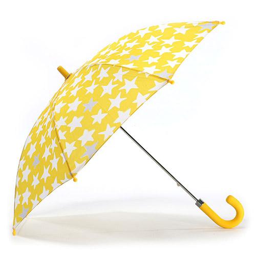 헤즈 아동용 반짝별 옐로우 우산