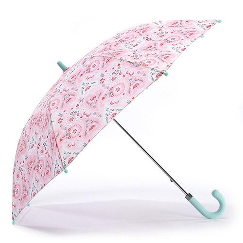 헤즈 아동용 핑크 페이즐리 우산