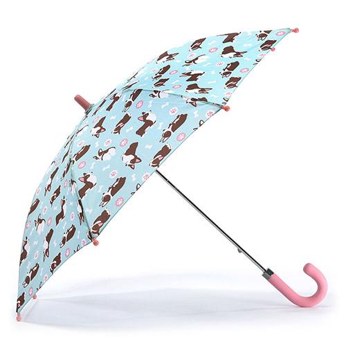 헤즈 아동용 웰시코기 블루 우산