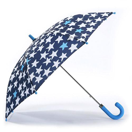 헤즈 아동용 반짝별 네이비 우산
