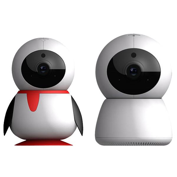 싸드 FULL HD 가정용 홈CCTV IP네트워크 회전형 카메라 펭카 + 미캠, PE204