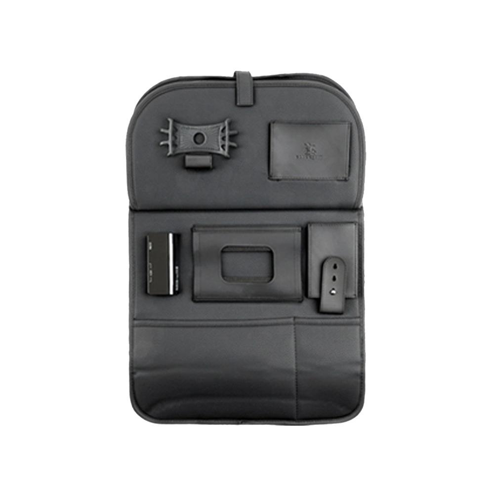 블랙슈트 차량용 뒷좌석 USB충전 멀티포켓, 1개