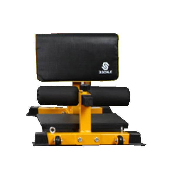 반석스포츠 그랜드 스쿼트 머신 와이드형, 옐로우 + 블랙