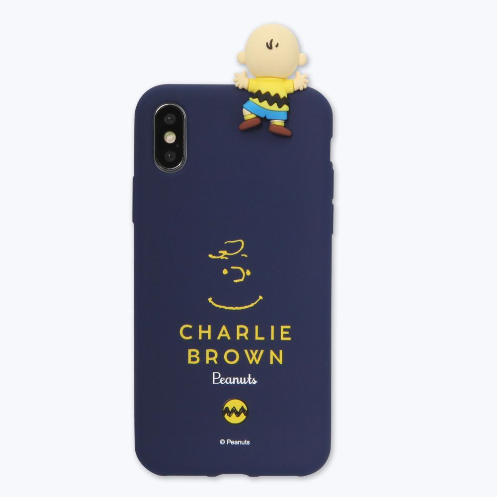 피너츠 스누피 피규어 컬러 젤리 휴대폰 케이스