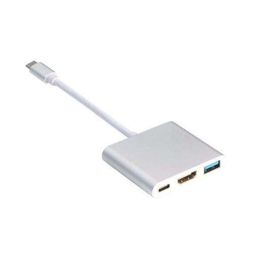 애니클리어 USB Type C to HDMI + USB 3.0 + PD 변환아답터, PDB-TCH10