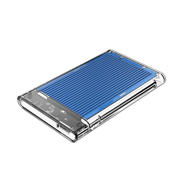 오리코 USB 3.0 외장하드케이스 SSD HDD L 127.5mm x W 80mm x H 14mm 방열판 2179U3, 2179U3(블루)