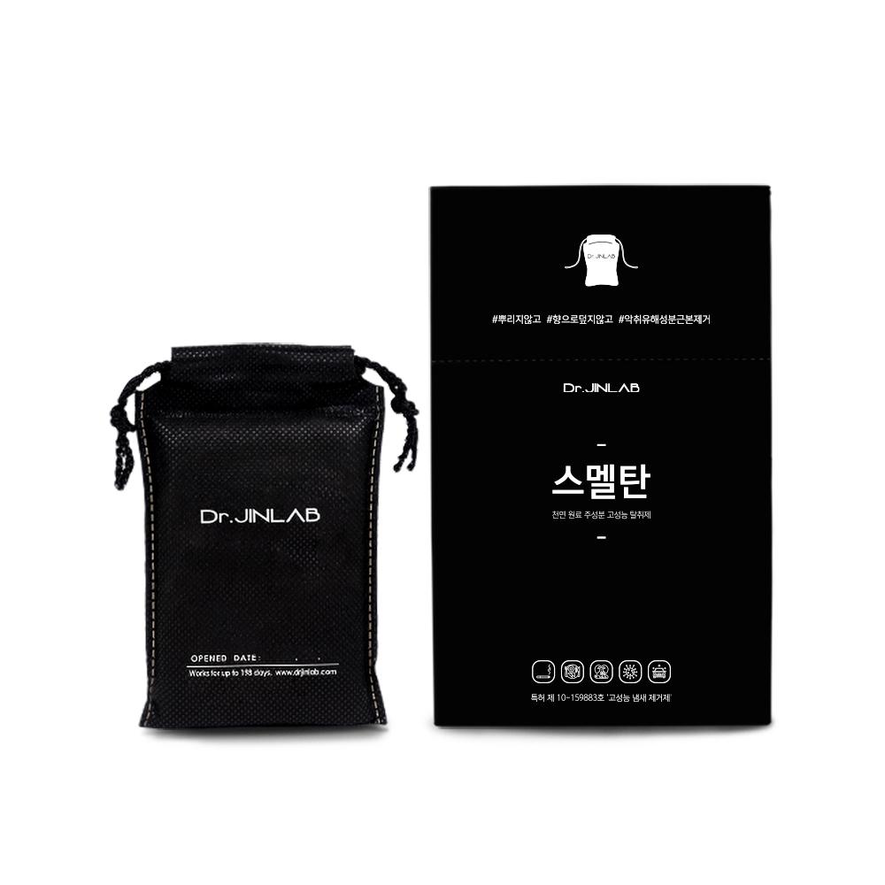 닥터진랩 스멜탄 고성능 실내 탈취제 차량용 블랙, 90g, 1개