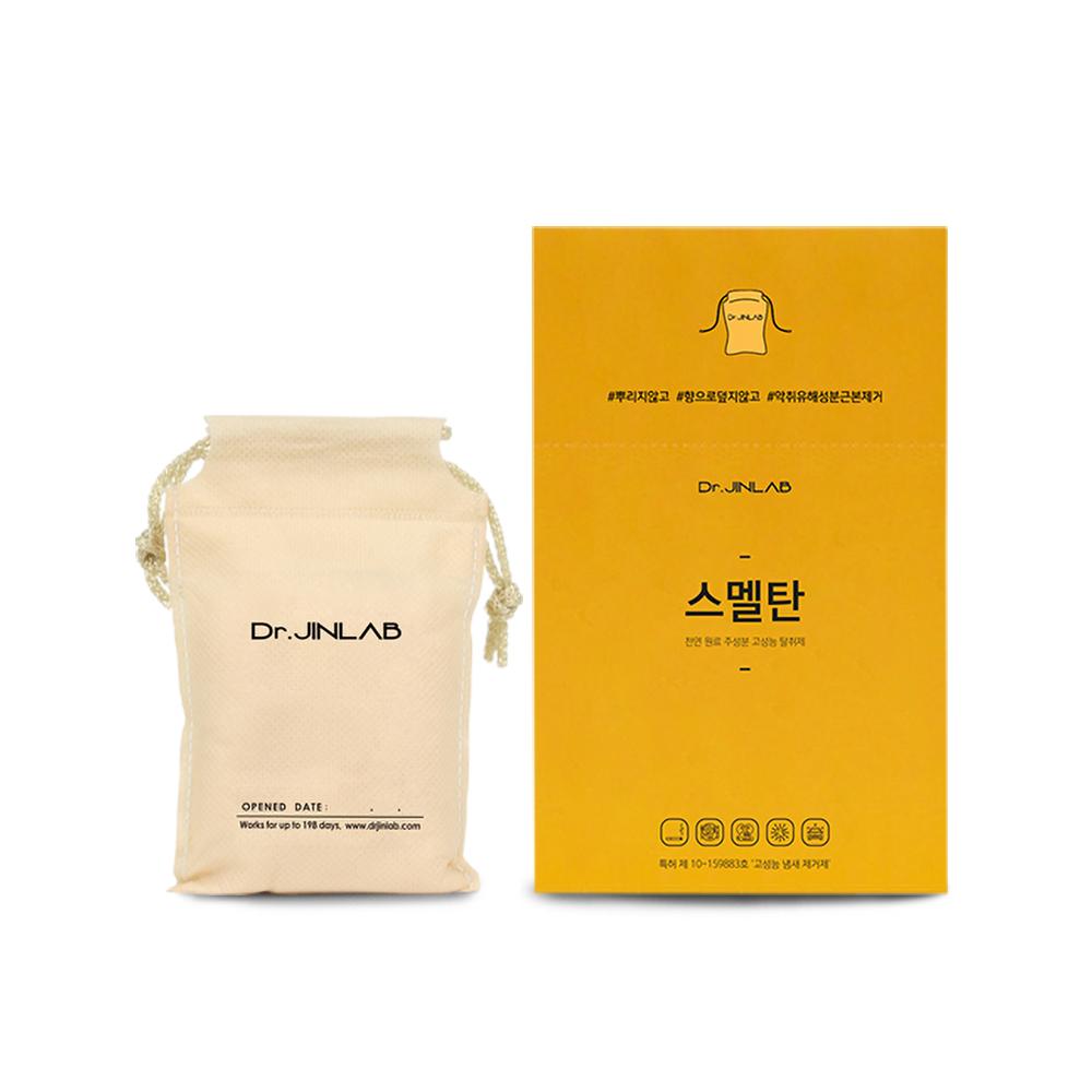 닥터진랩 스멭탄 고성능 실내 탈취제 옷장용 베이지, 90g, 1개