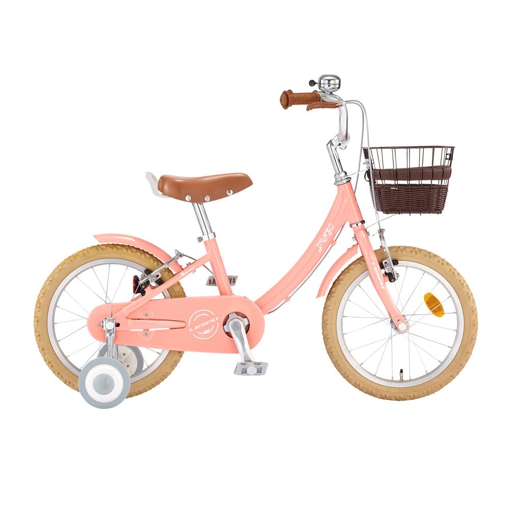 삼천리자전거 2020년형 딩고 아동용자전거 40.64cm + 무료조립쿠폰, 라이트핑크, 1080mm