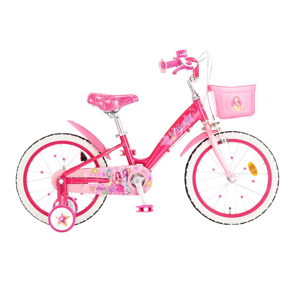 삼천리자전거 2020년형 시크릿쥬쥬 아동용자전거 45.7cm + 무료조립쿠폰, 핑크, 1210mm