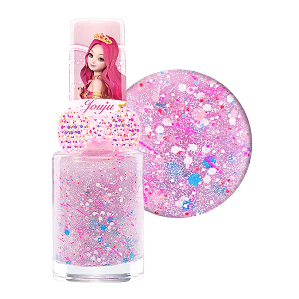 리틀블링 시크릿 쥬쥬 별의 여신 반지 어린이 네일 컬러, 핑크사이다, 1개