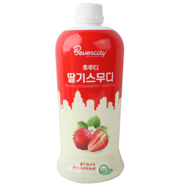 베버시티 후르티 딸기스무디, 1.8kg, 1개