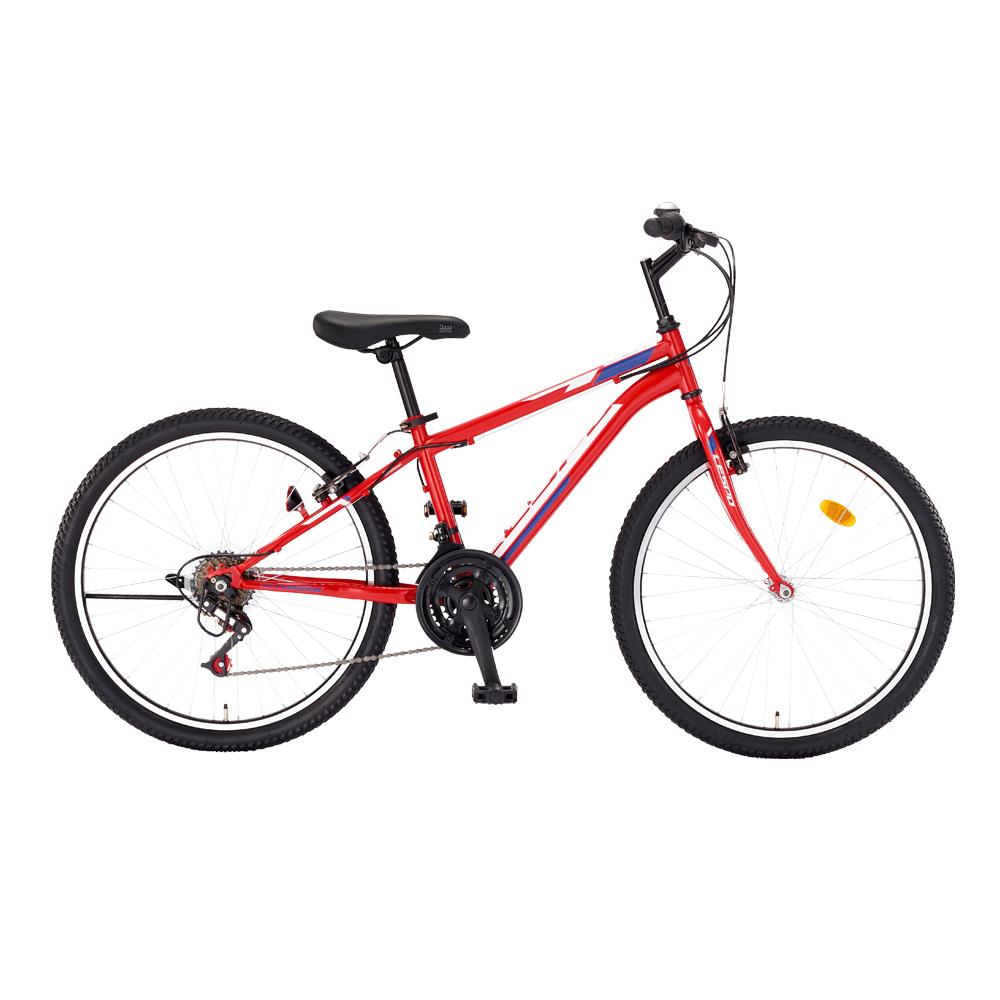 삼바몰 24 태풍 GS 21단 MTB 자전거, 레드, 1590mm