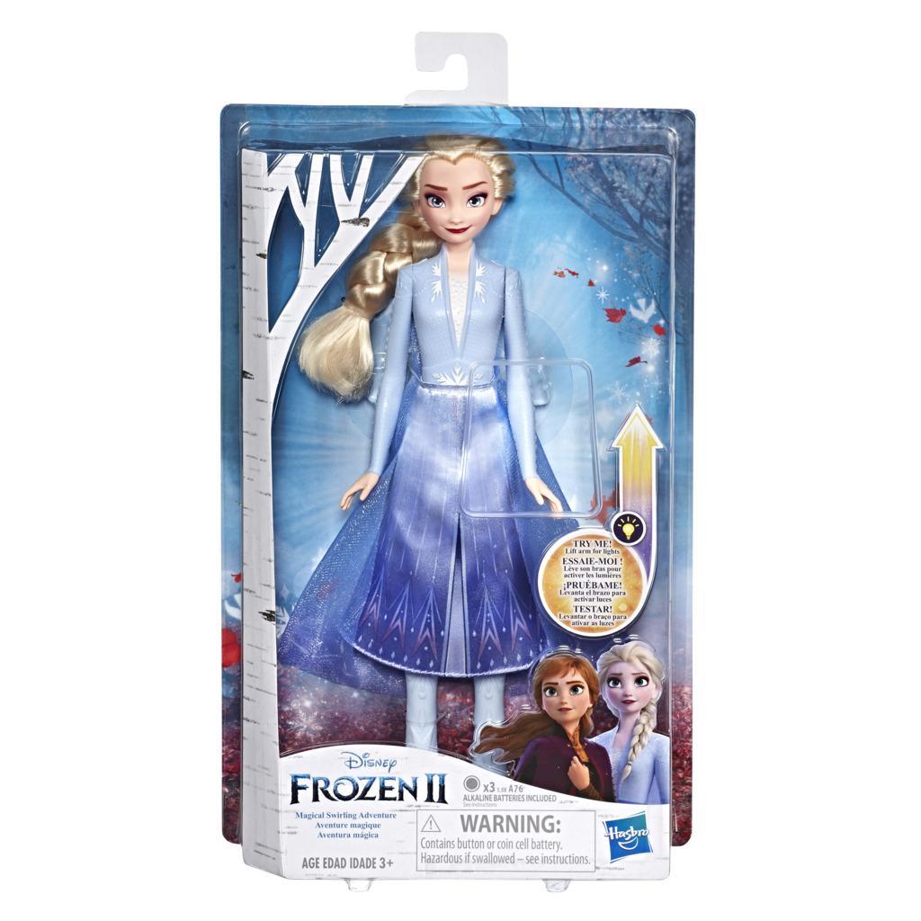 겨울왕국 2 패션돌 엘사와 빛나는 드레스 인형, 하늘색
