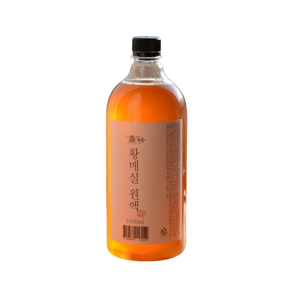 하동권여사 3년숙성 황매실 발효액, 1000ml, 1개