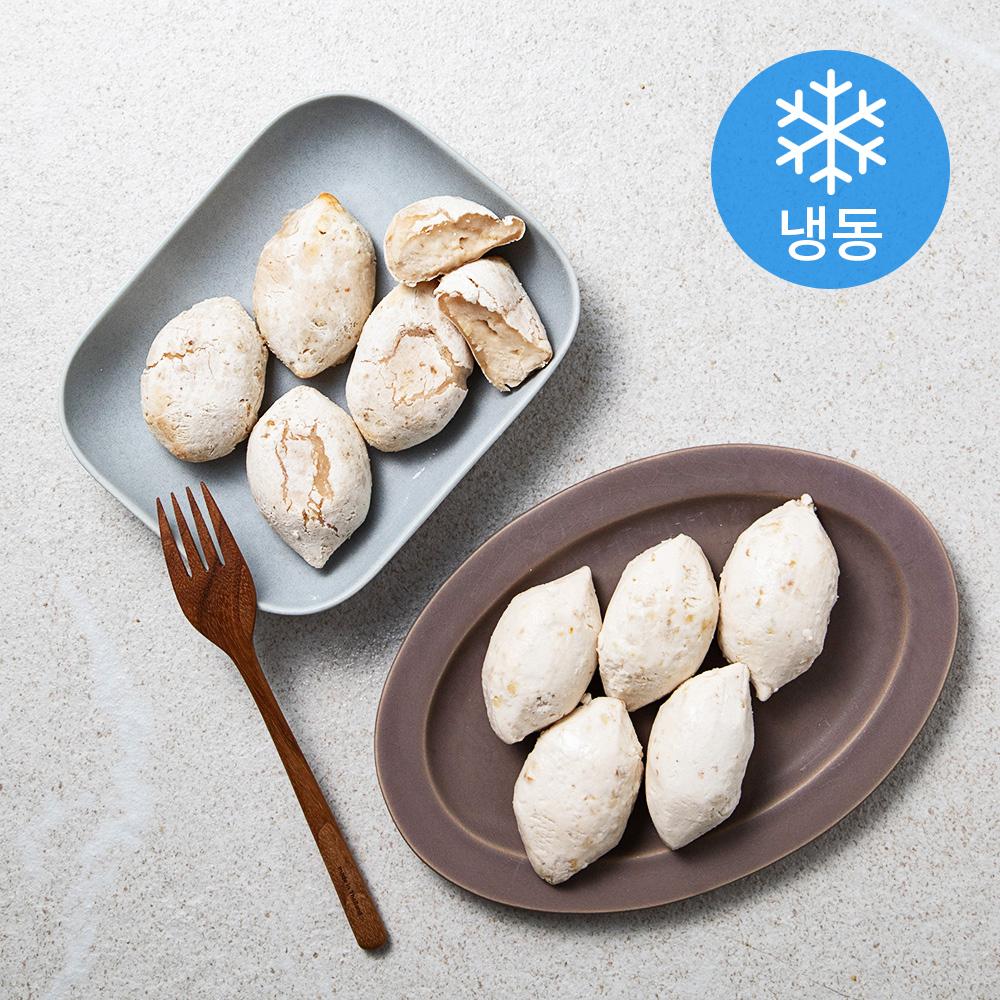 착한떡 아기바게트 찰떡생지 플레인 (냉동), 45g, 10개