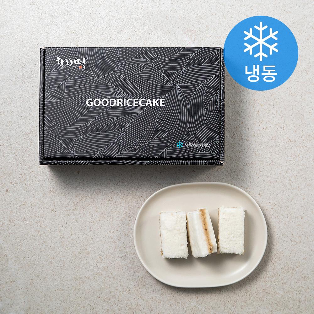 착한떡 달콤한 우유백설기 (냉동), 45g, 20개