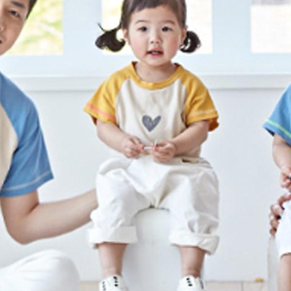 몽피마피 하트 나그랑 패밀리 반팔 티셔츠