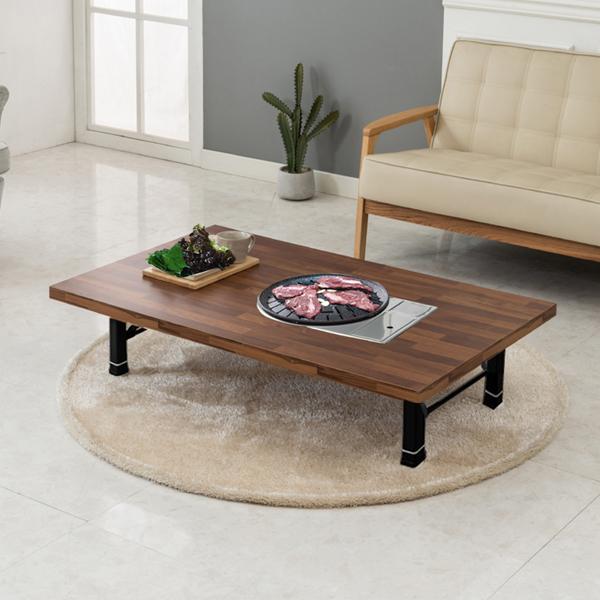 노아가구 리치블 불판 테이블, 멀바우