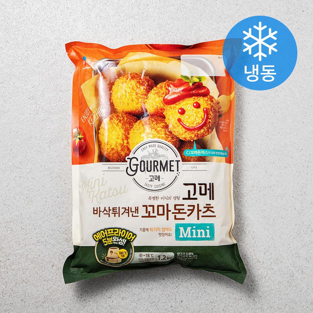 고메 바삭튀겨낸 꼬마돈카츠 (냉동), 1200g, 1개
