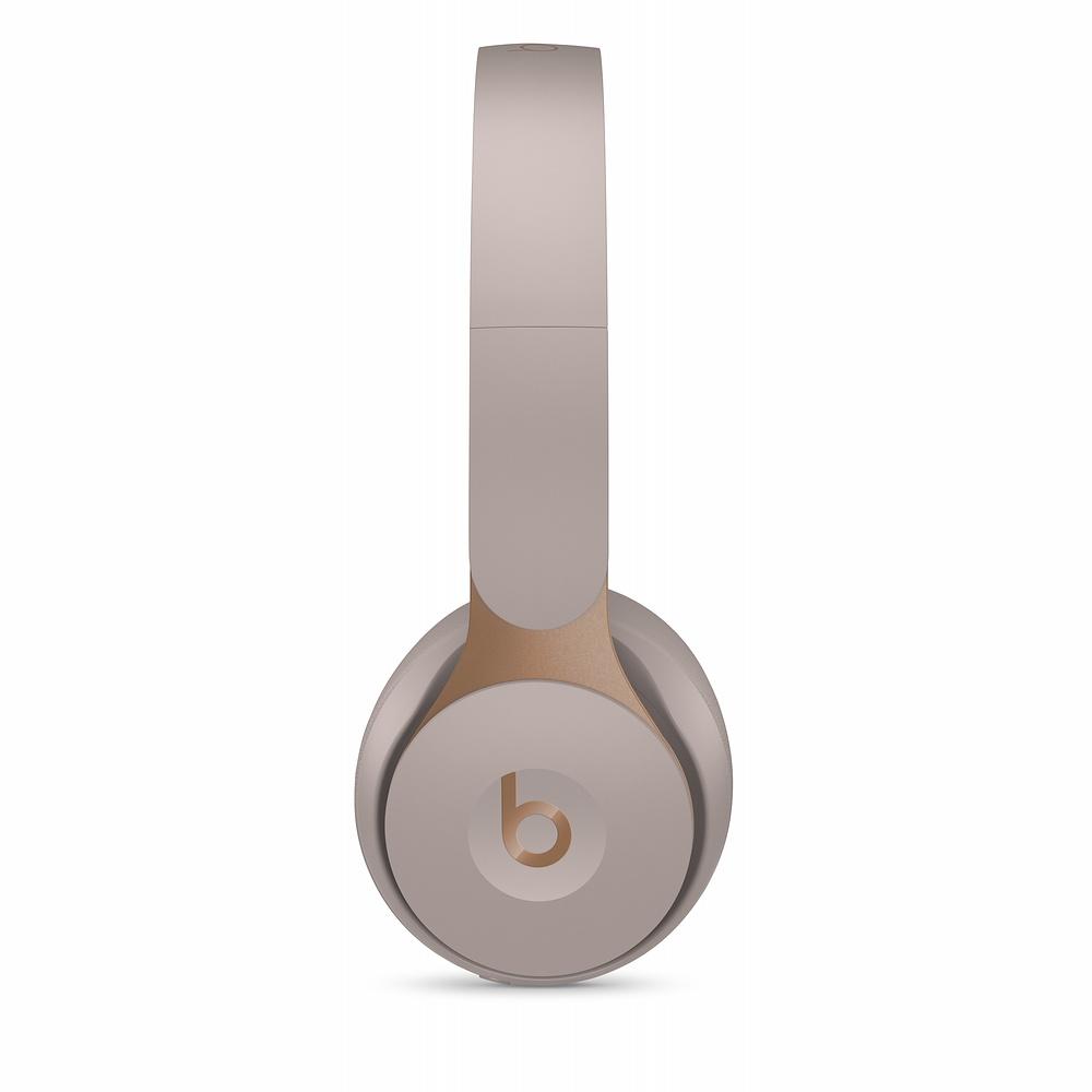 Apple Beats Solo Pro 노이즈 캔슬링 무선 헤드폰, 그레이, MRJ82ZP/A