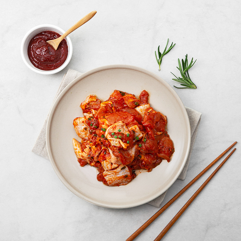 육식학 양념 춘천식 닭갈비, 1kg, 1개