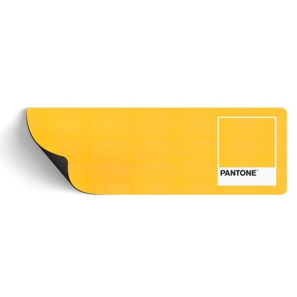 PANTONE 마우스 장패드 300 x 900 mm, YELLOW, 1개