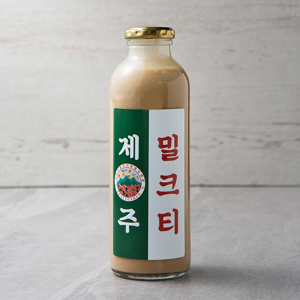 틸리셔스 홍콩 제주 수제 밀크티, 500ml, 1병