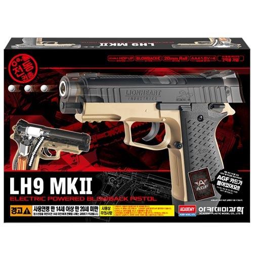 아카데미과학 전동 권총 장난감 LH9-MK2 17414, 1개
