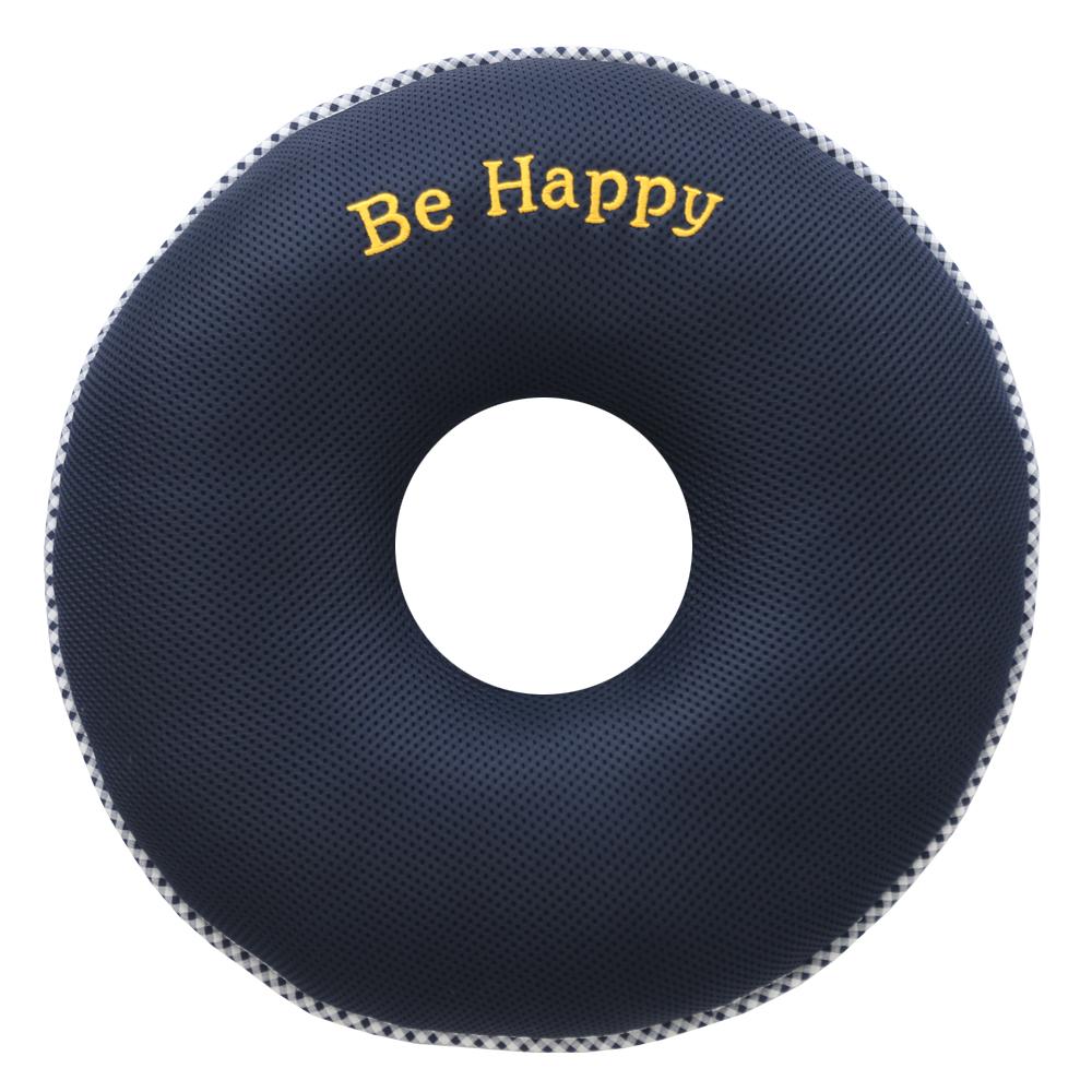 이솔홈 에어메쉬 기능성 원형 도넛방석, 네이비