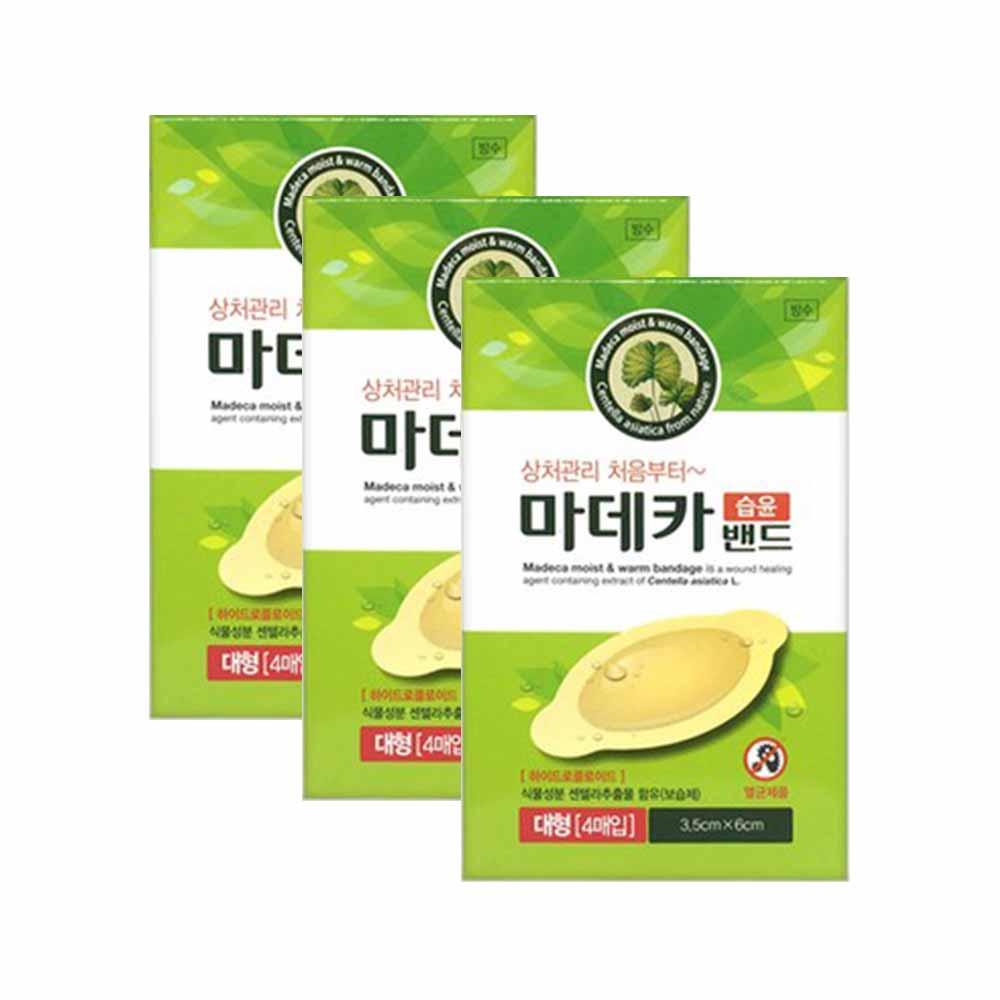 동국제약 마데카 습윤밴드 4매, 3개 (POP 1403515805)