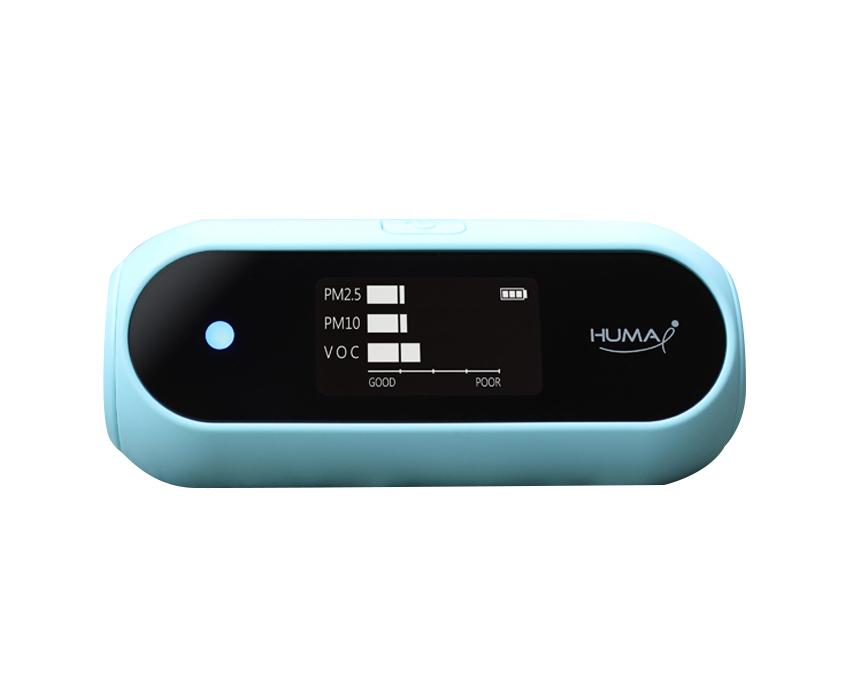 휴마아이 미세먼지 초미세먼지 VOC 측정기 스카이블루 HI-120A, 1개