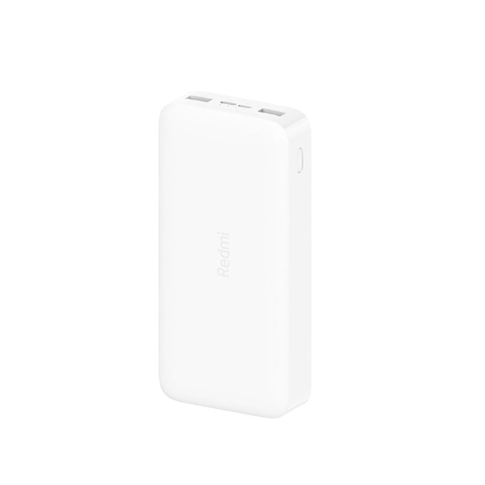 샤오미 홍미 고속 충전 보조배터리 20000mAh Type C & Micro USB 5핀 포트, PB200LZM, 화이트