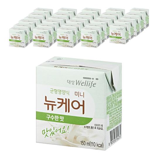 대상웰라이프 뉴케어 미니 균형영양식 구수한맛, 150ml, 30개