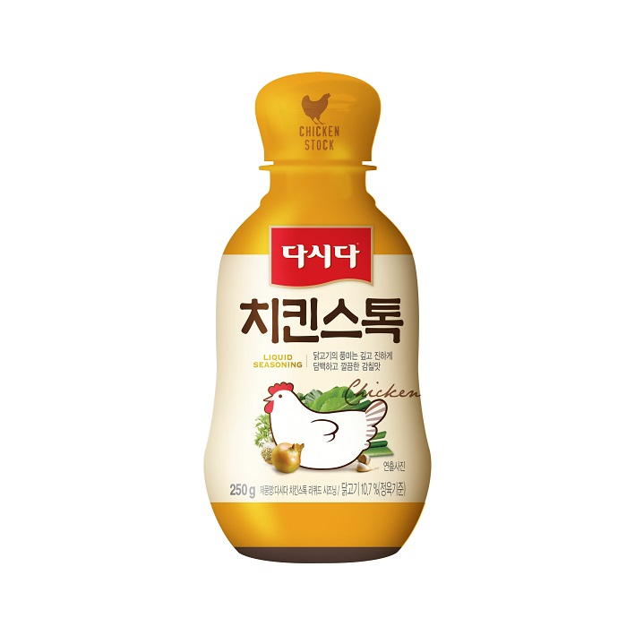 CJ제일제당 다시다 치킨 스톡 리퀴드 시즈닝, 250g, 1개