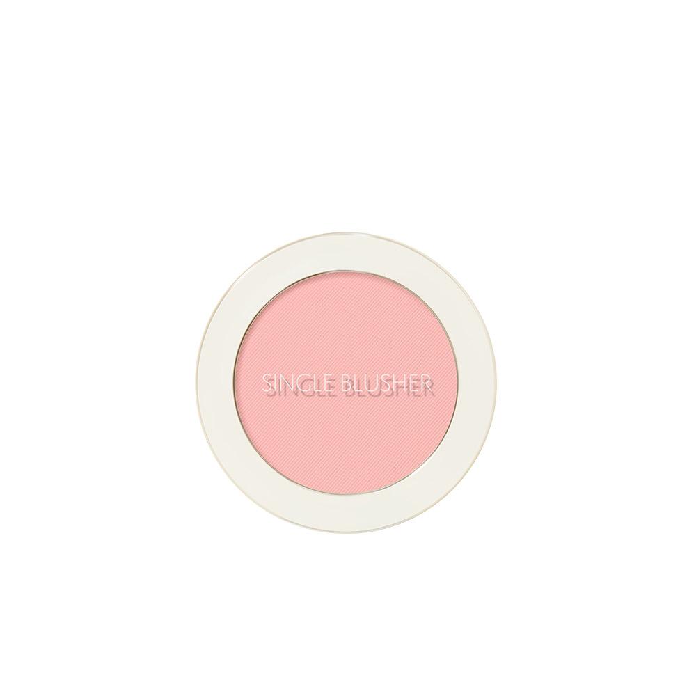 샘물 싱글 블러셔 5g, PK05 요거트 핑크, 1개