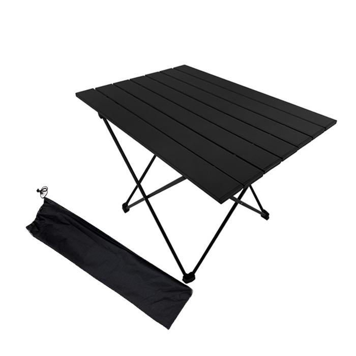 [Gold box] 조아캠프 롤 캠핑 테이블 OT117 + 보관가방, 블랙 - 랭킹16위 (25410원)