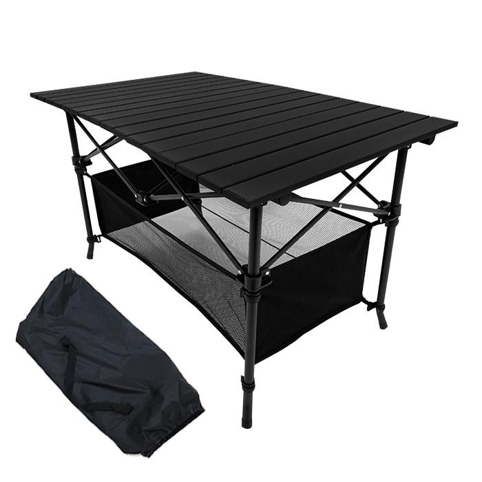 조아캠프 시스템 캠핑 테이블 OT119 + 보관가방, 블랙